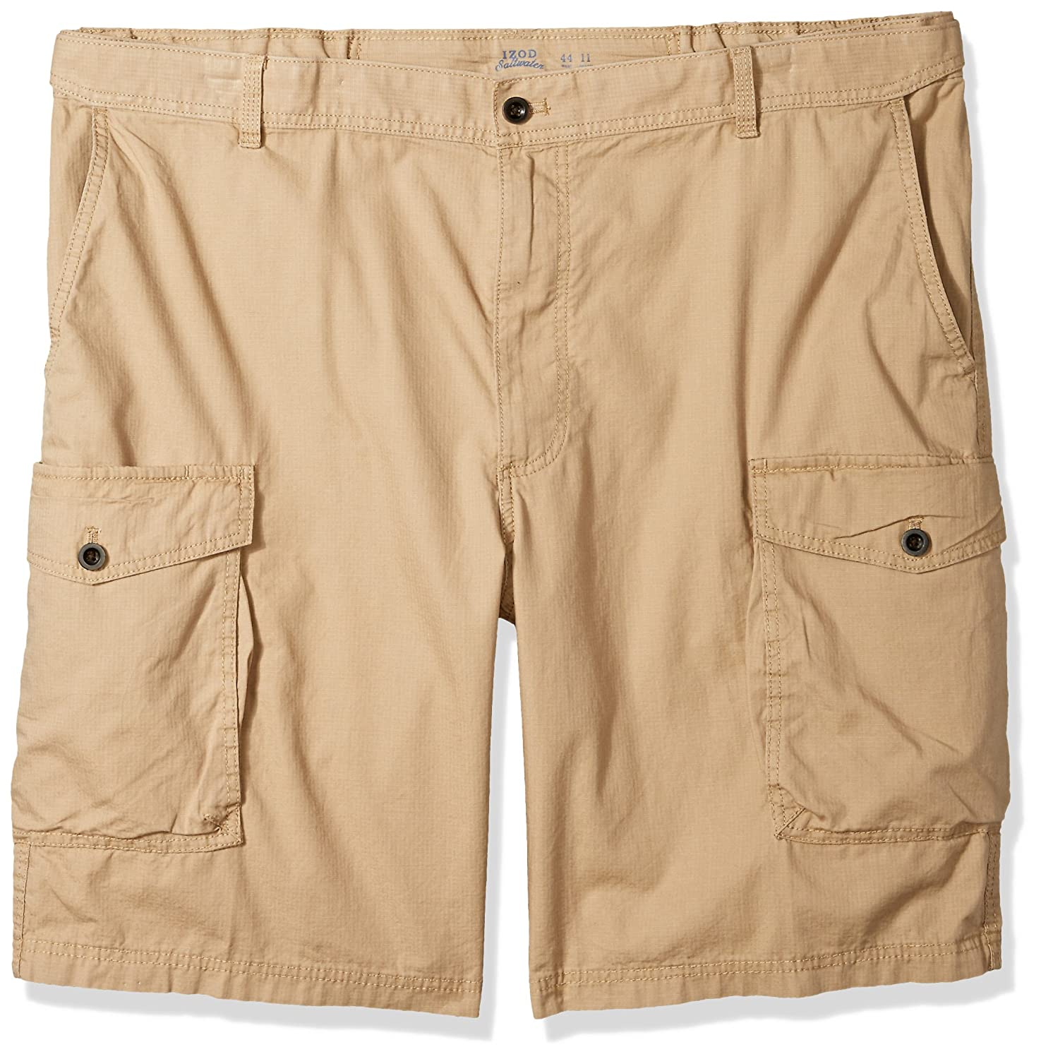 Izod Mens Big-Tall Big Tall Saltwater Ripstop Cargo Short 45X5265