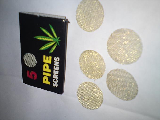 Unbekannt 25x 20mm Messing Siebe Feine Siebchen 5 x 5 = 25 St/ück Brass Screens