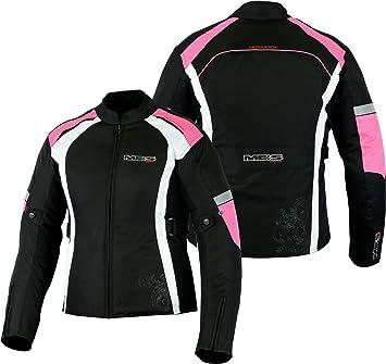 MBSmoto - Chaqueta de motociclismo para mujer (impermeable, cortavientos): Amazon.es: Coche y moto