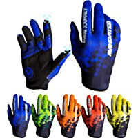 Cycling Gloves,Full Finger Biking Glove MTB DH Road Mountain Bicycle Motorcycle Anti-Slip Shock-Absorbing Touch Screen…