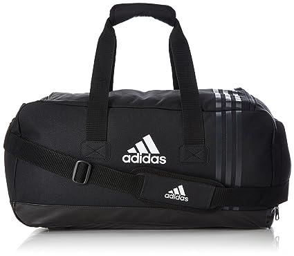 adidas Tiro Sac de Sport Mixte Adulte, Noir/Gris/Blanc, S