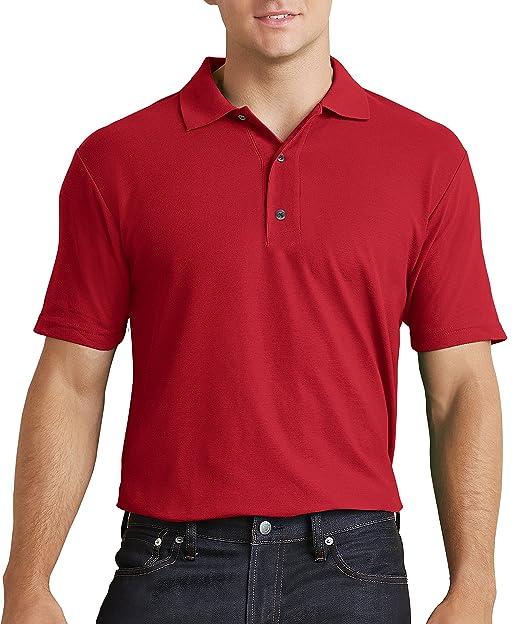 94647f226ec Gildan Men's Antimicrobial Performance Jersey Polo Shirt at Amazon ...