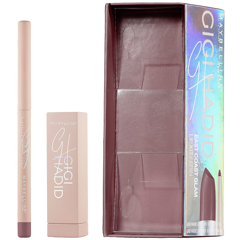 Maybelline New York Gigi Hadid Lipstick and Lip Liner Kit, Erin L' Oreal - Cosmetics 041554548747