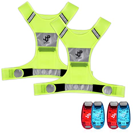 Back To Search Resultsapparel Accessories Honesty 2019 Universal High Brightness Safe Reflective Vest Belt Night Running Jogging Biking Riding Elastic Safety Vest