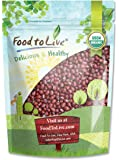 Food to Live Organic Adzuki Beans (1 Pound)