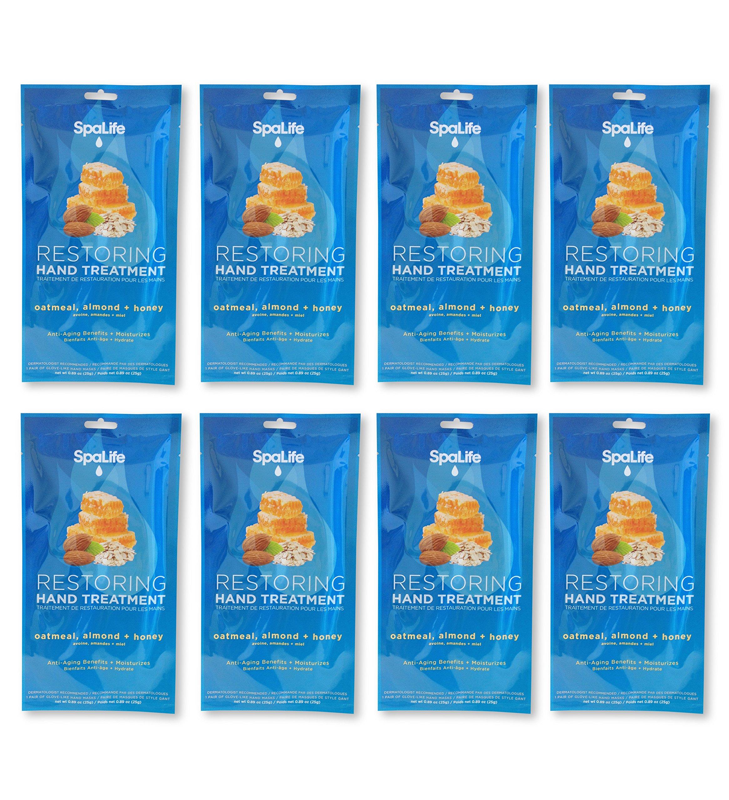 Spa Life Restoring Miraculous Moisturizing Hand Gloves ( Oatmeal + Almond+Honey Pack of 7)