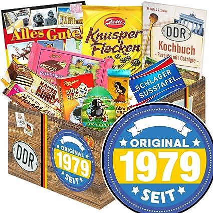 Original Seit 1979 40ten Geburtstag Geschenke Ddr Korb Schokolade