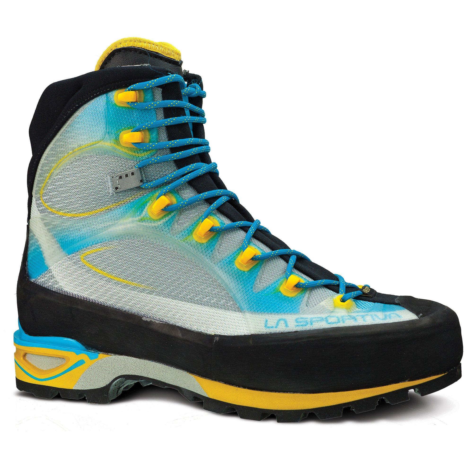 La Sportiva Trango Cube GTX Mountaineering Boot - Women's Malibu Blue/Yellow 42.5 by La Sportiva