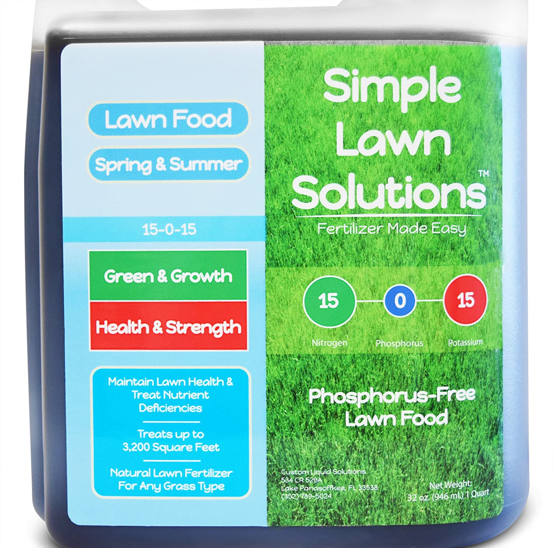 Superior Nitrogen & Potash 15-0-15 NPK- Lawn Food Natural
