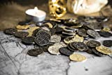 Metal Pirate Coins - 30 Gold and Silver Spanish