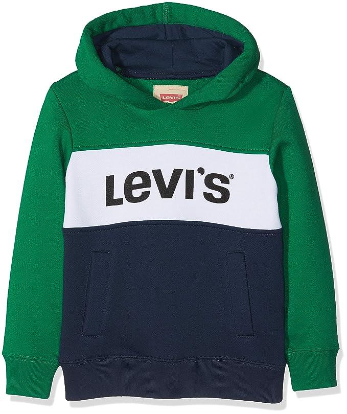 Levis kids Sweat Shirt Nm15017 - Sudadera Niños: Amazon.es: Ropa y accesorios