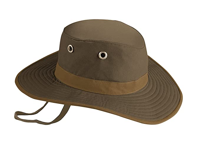 7e3bff34 ... greece tilley twc6 broad brimmed waxed cotton hat british tan 7 5 8  4a864 66882