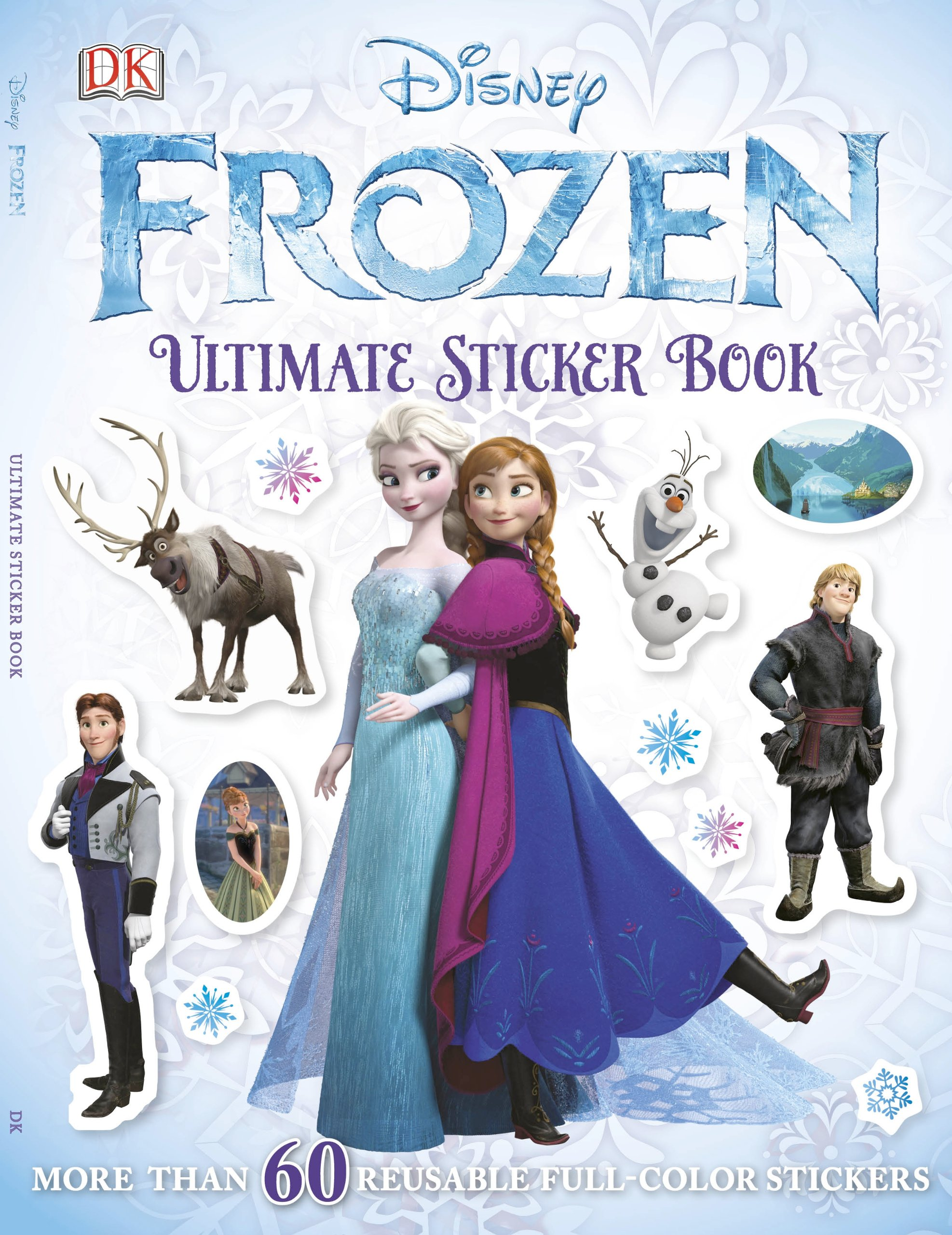 Ultimate Sticker Book Frozen Books