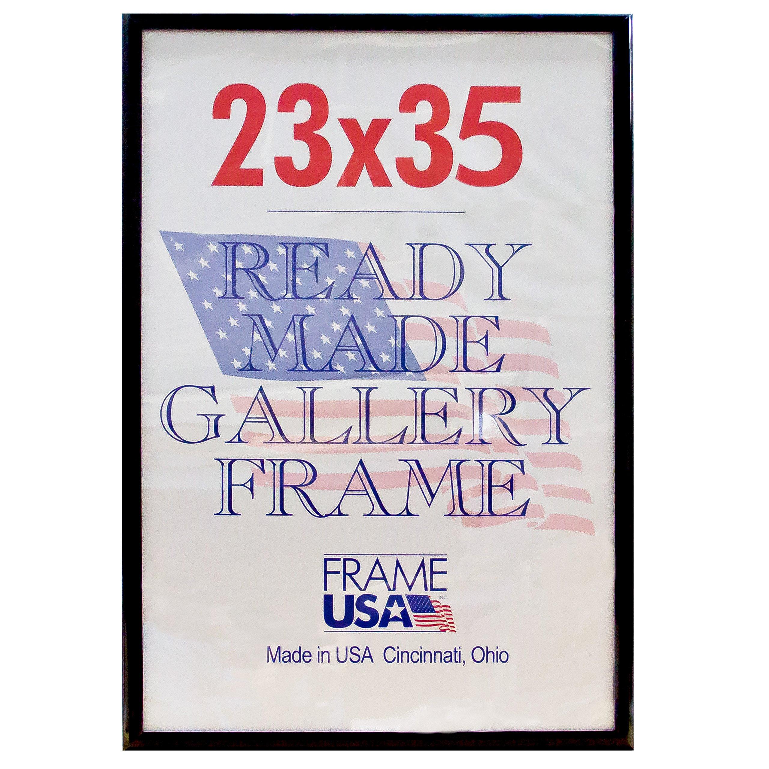 Deluxe Posterframe Frames, 23 x 35, Black