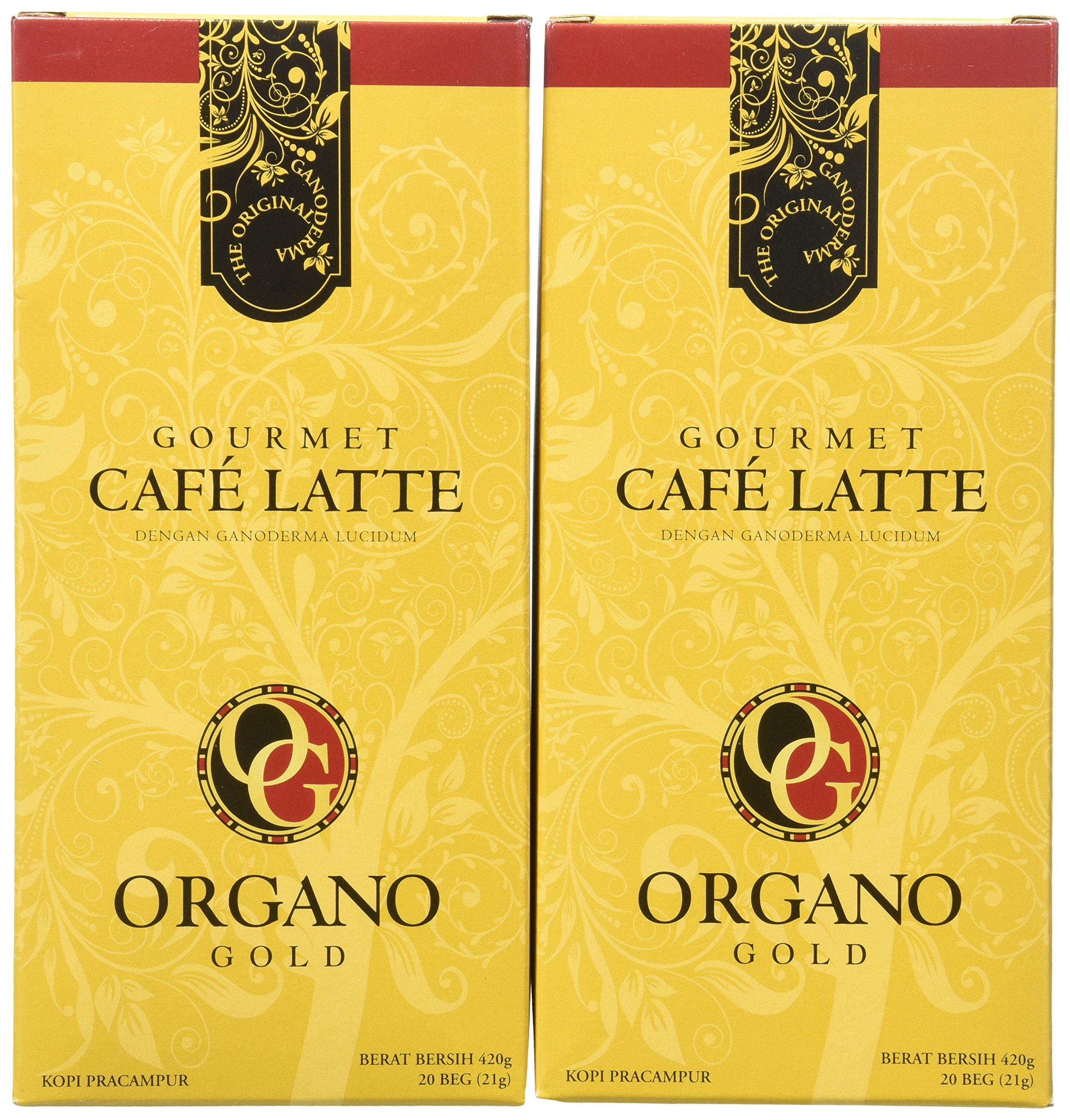 Amazon organo gold gourmet black ganoderma coffee 1 box of 30 2 boxes of organo gold ganoderma gourmet caf late 20 sachets per box colourmoves