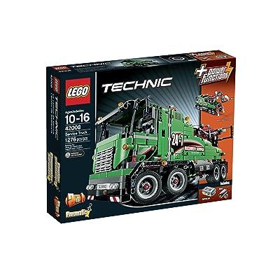 LEGO Technic 42008 Service Truck: Toys & Games [5Bkhe1206800]