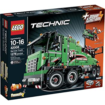 lego technic 42009 mobile crane mk ii discontinued by manufacturer toys games. Black Bedroom Furniture Sets. Home Design Ideas