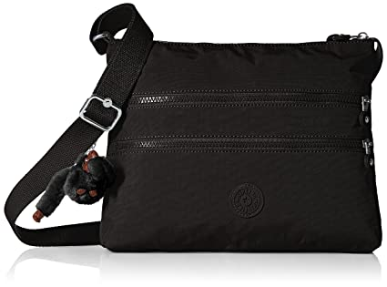 Kipling Alvar Black Tonal Crossbody Bag e728304566
