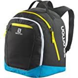 SALOMON(サロモン) スキー スノーボード バックパック ブーツバッグ ORIGINAL GEAR BACKPACK Black/Cyan Hexachrome/Corona Yellow L38289500