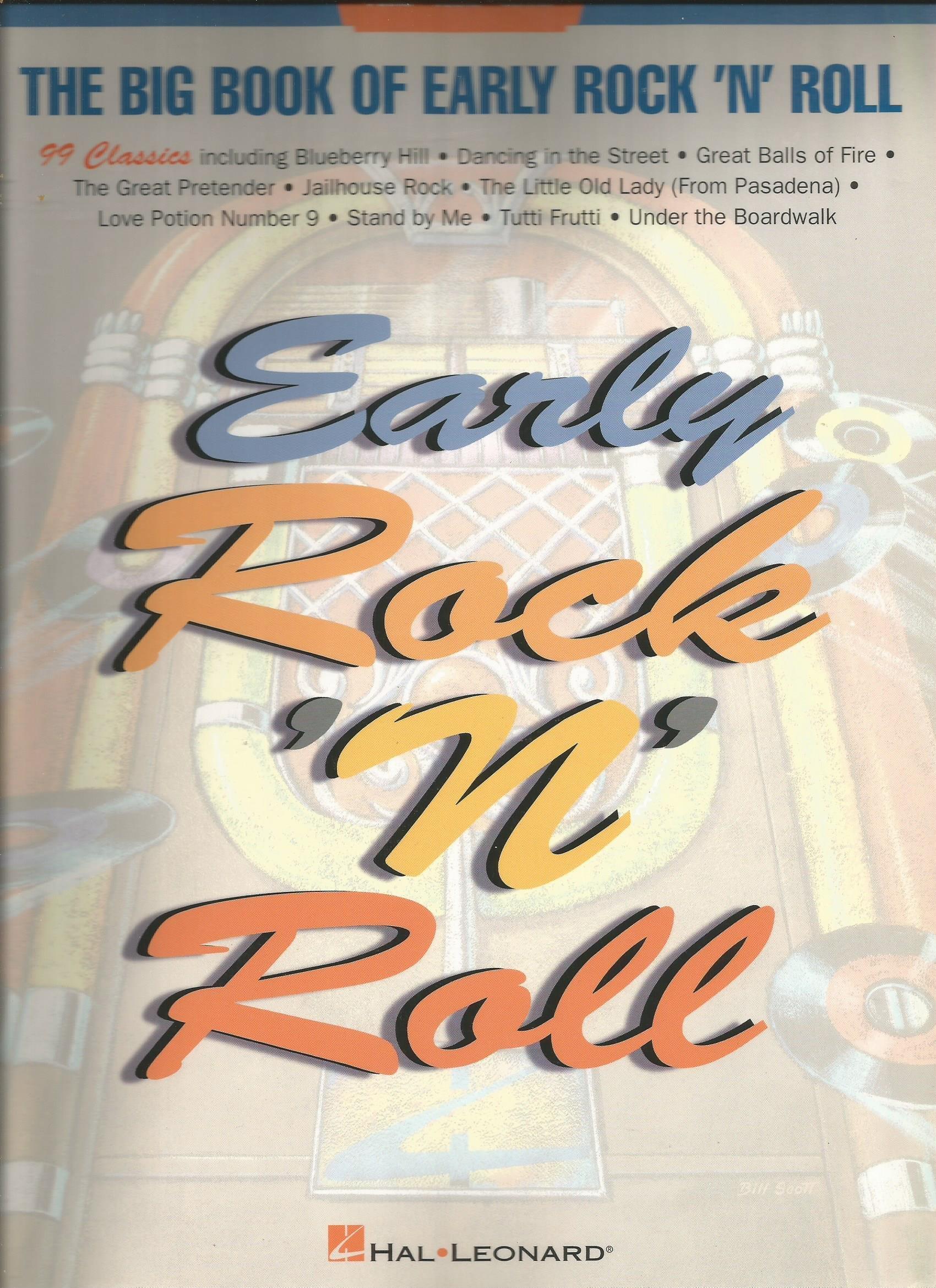 Big Book Of Early Rock N Roll Big Books Of Music 1998 09 01