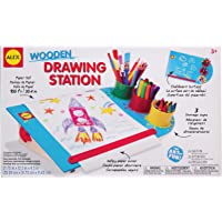 ALEX Toys Wooden Drawing Station Play Set