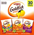 Pepperidge Farm Goldfish Classic Mix Variety Pack Crackers, 1 Ounce Snack Packs, 30 Count
