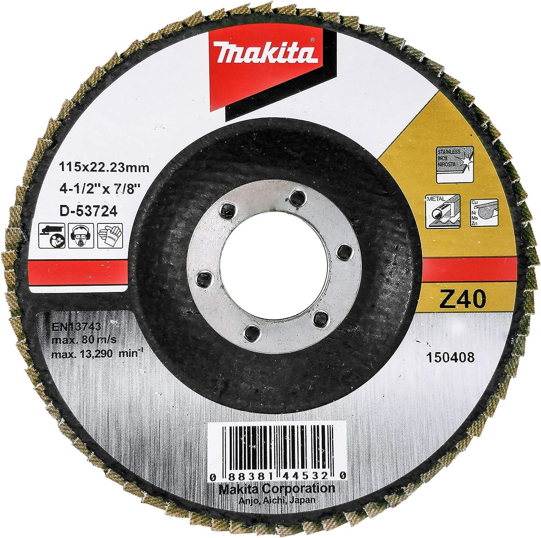 Multi-Colour Makita D-27872 Flap Disc