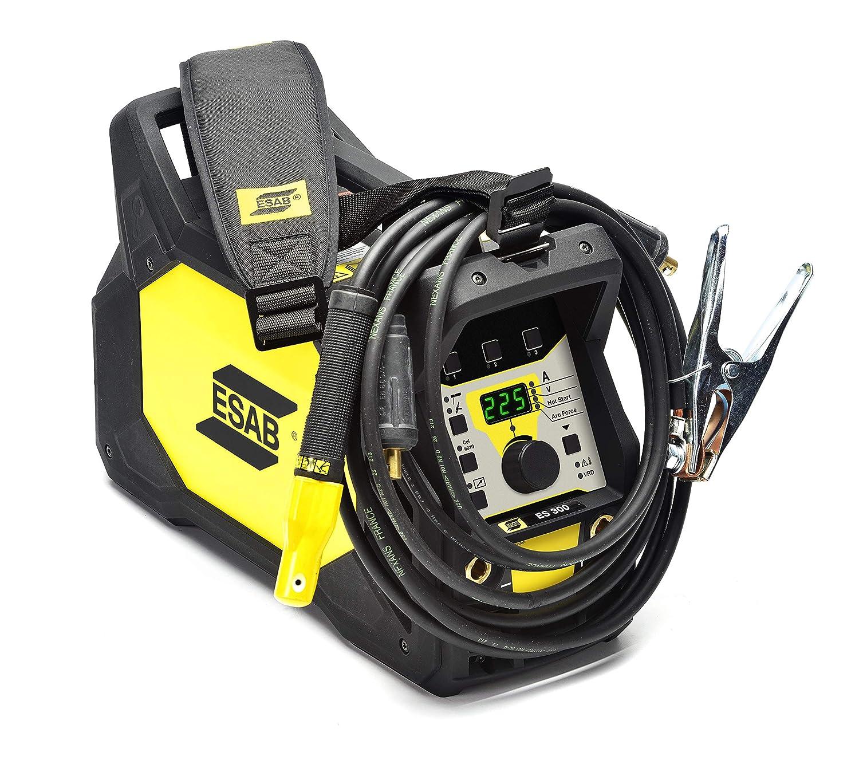 Equipo de soldadura inverter ESAB Renegade ES 300i para Electrodo/varilla TIG y LiveTIG: Amazon.es: Industria, empresas y ciencia