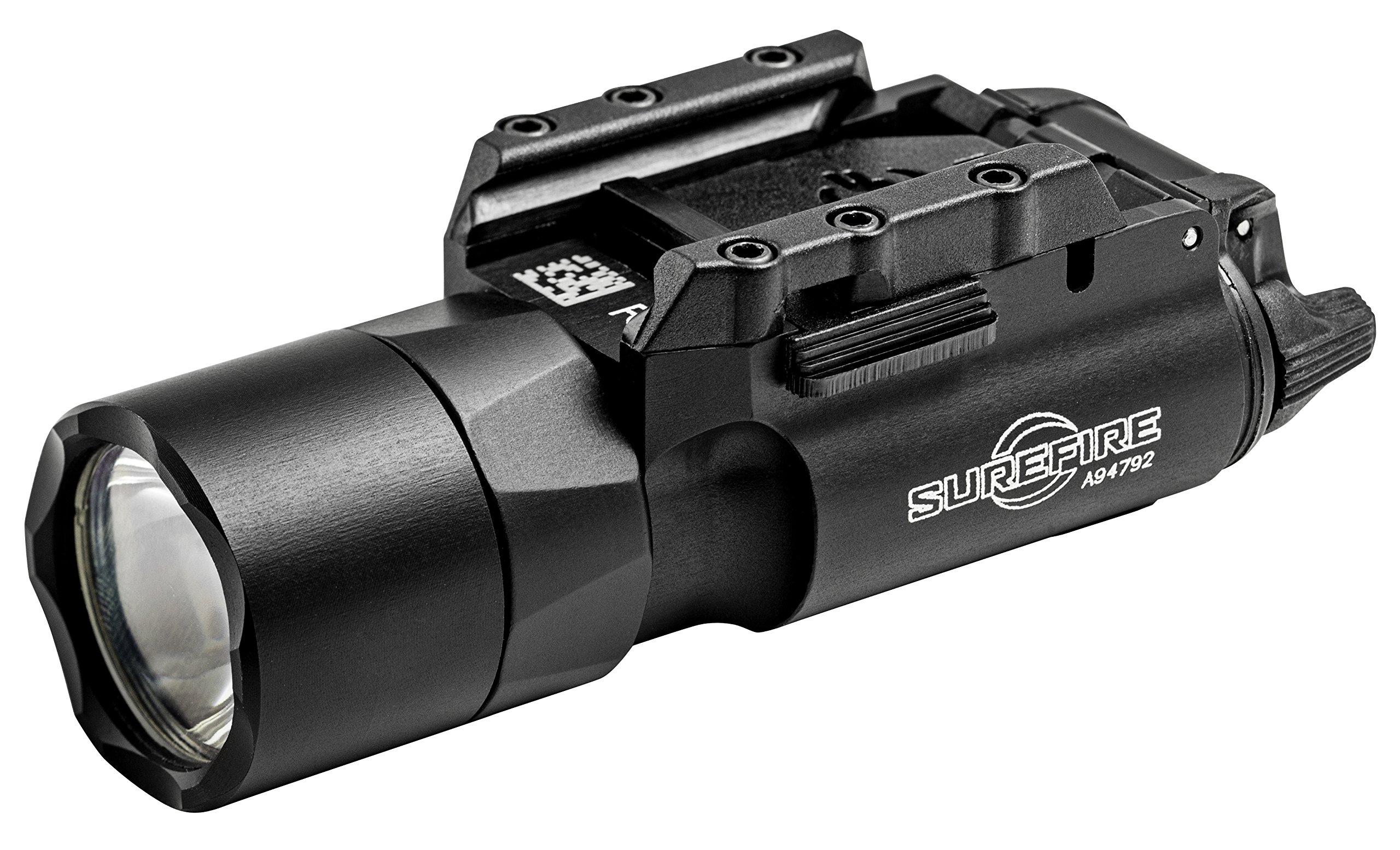 SureFire X300 Ultra LED Handgun or Long Gun WeaponLight with Rail-Lock Mount, Black by SureFire