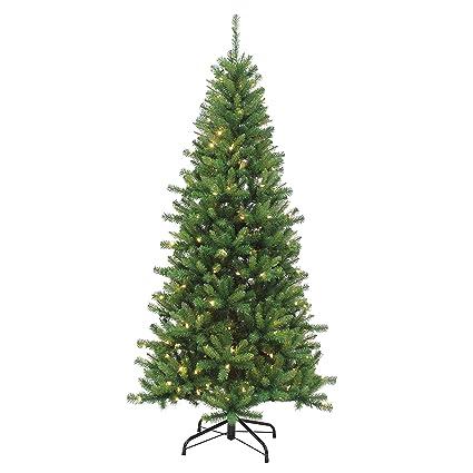 sterling tree company 7 led ozark pine artificial christmas tree 45 l x - Christmas Tree Amazon