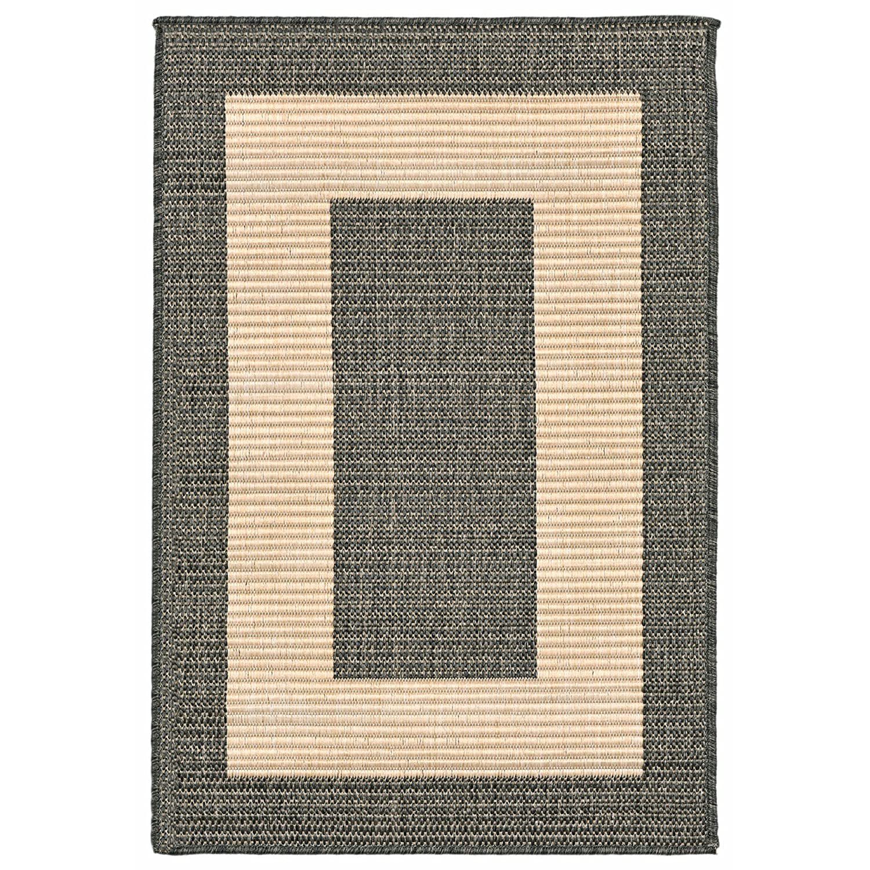 Liora Manne Veranda Selvage Rug, 4'10x7'6, Green 4' 10x7' 6 The Trans Ocean Group TE358A74176