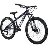 "Diamondback Bicycles 2016 Line 24 Complete Youth Mountain Bike, 1""/One Size, Dark Blue"