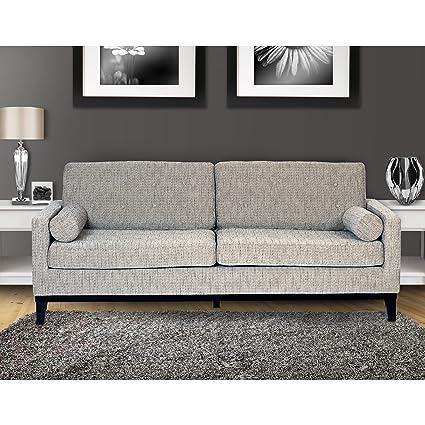Attirant Armen Living Centennial Sofa, Ash Fabric