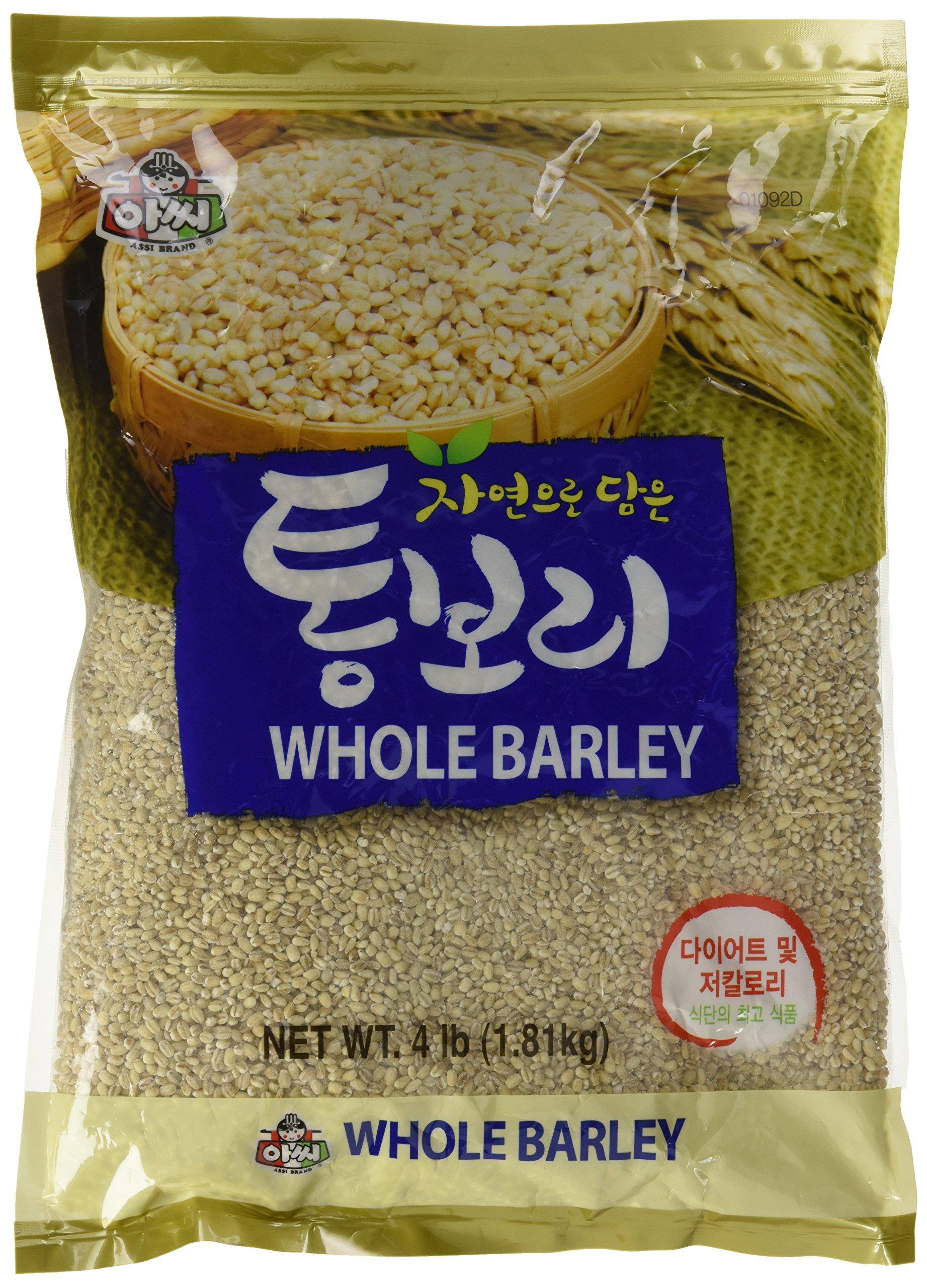 assi Whole Barley, 4 Pound