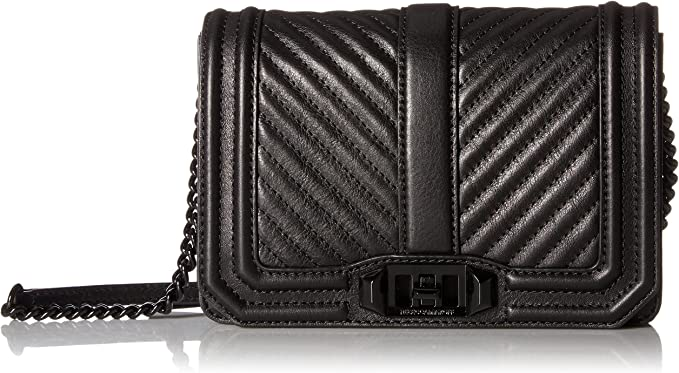 detailed pictures cozy fresh cheap for discount Amazon.com: Rebecca Minkoff Chevron Quilted Small Love Crossbody ...