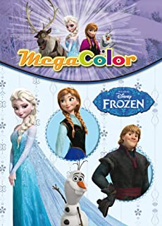 Frozen Supercolor Disney Frozen Amazones Disney Libros
