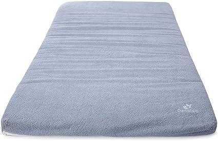 Candide 563100 – Colchón de viaje – Esponja – Azul/pizarra