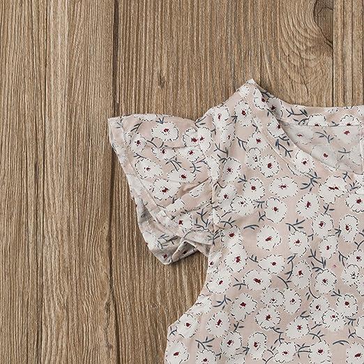 Amazon.com: Mubineo bebé niña recién nacido verano adorable ...