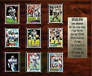 "C & I Collectibles NFL 15""x18"" Michael Irvin Dallas Cowboys Career Stat Plaque"