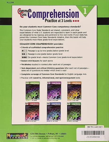 Common Core Comprehension Grade 2: Multiple Authors: 9781612691916 ...