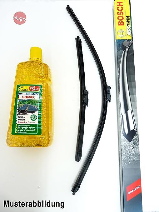 Bosch para limpiaparabrisas Aerotwin 3 397 118 904 & Sonax limpiacristales concentrado ...