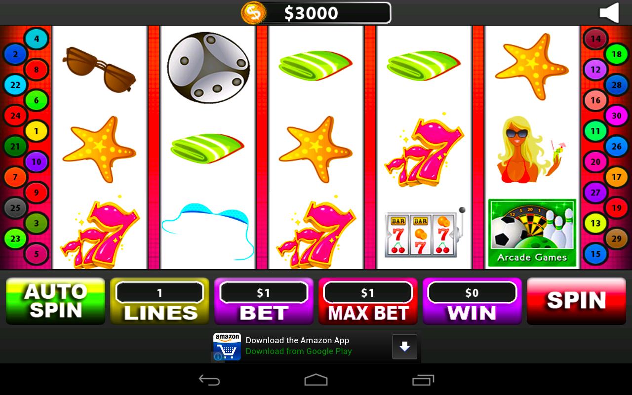 Slots Free Simulator Bonanza Sun Tan Chasers: Amazon.es: Appstore ...