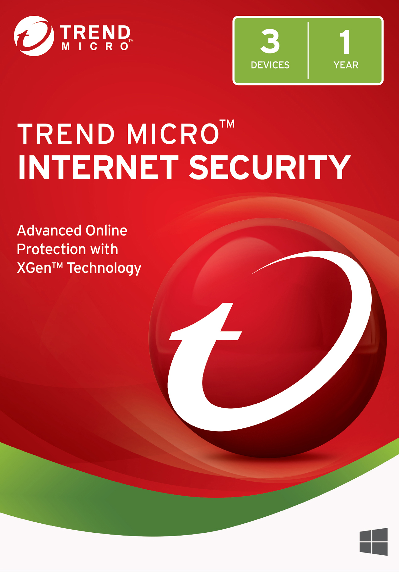 Trend Micro Internet Security 2018 (3 Device) [Download] (Micro Download Trend)