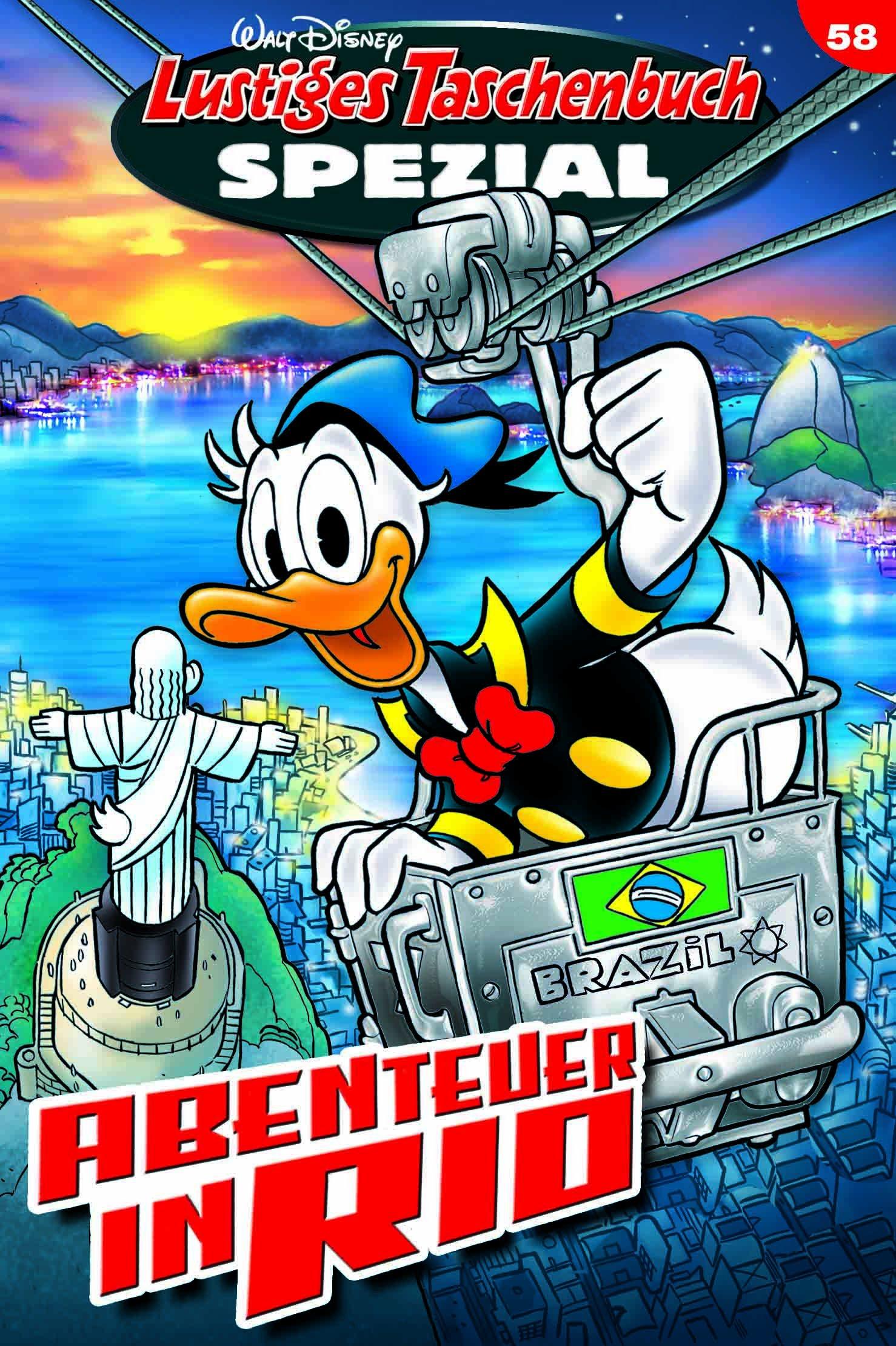 Lustiges Taschenbuch Spezial Band 58: Abenteuer in Rio