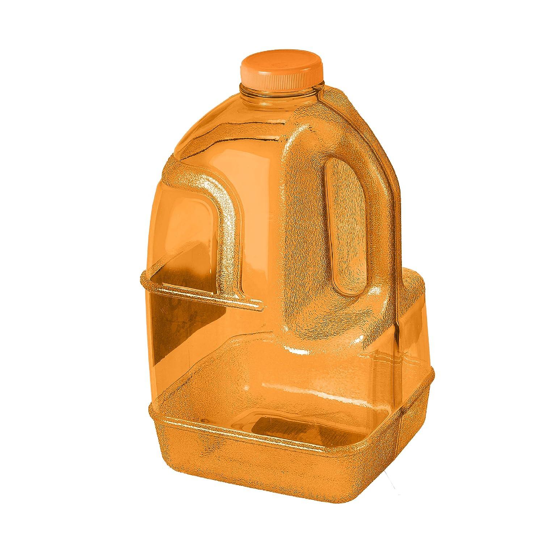 即日発送 飲料水ボトル 1ガロン ジャグ 1ガロン BPAフリー 再利用可能なプラスチック ジャグ コンテナ 飲料水ボトル オレンジ B07611864L, アングラーズショップ ライジング:fbdabdd4 --- a0267596.xsph.ru