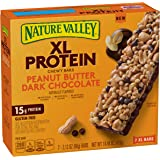Nature Valley Peanut Butter Dark Chocolate Protein Chewy Bars, 7 Count (Pack of 6)