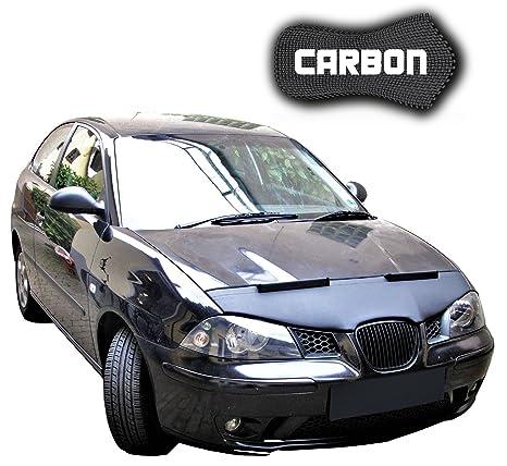 haubenbra Seat Ibiza 6 L Carbon Auto Máscara Bra para piedra Impacto Tuning Car Bra Top