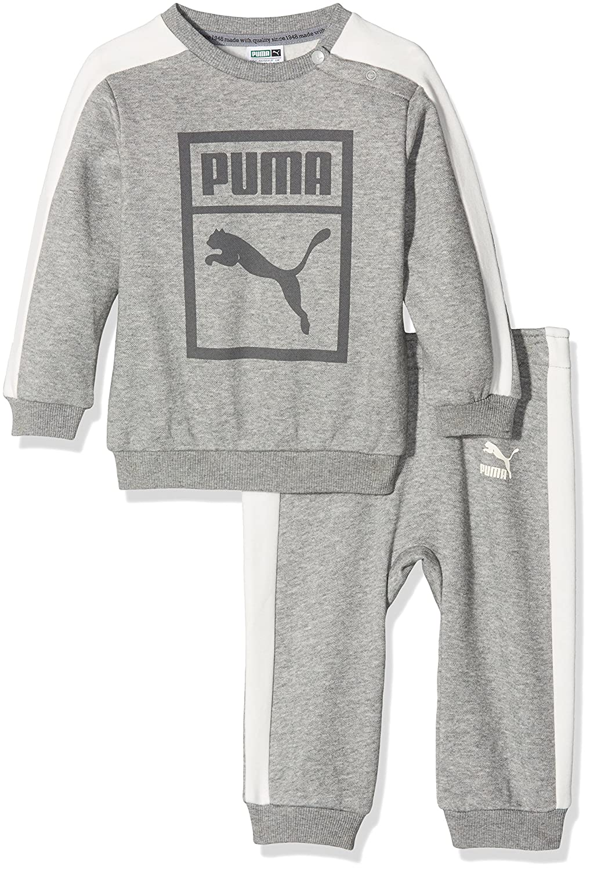 Puma Children's Minicats Classic Crew Jogger Suit 592604