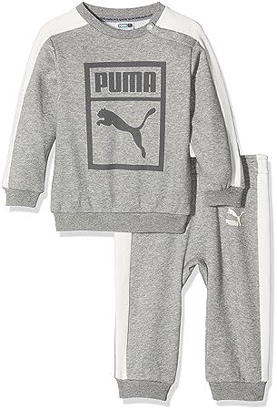 PUMA Minicats Survêtement Enfant Medium Gray Heather FR   XS (Taille  Fabricant   62) 626d9d842bb