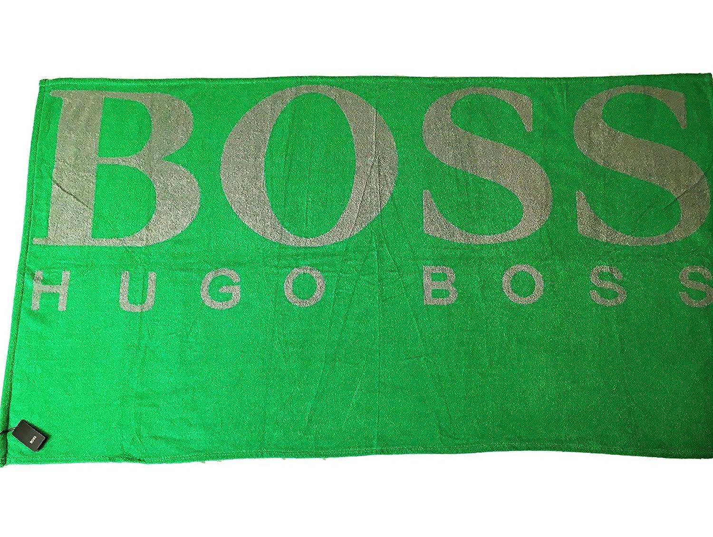 BOSS Original Hugo Funda Extra Grande de algodón Toalla de Playa 100 x 180 cm: Amazon.es: Hogar